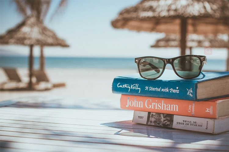 Sunglasses On Book