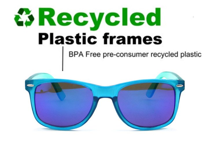 recycled plastic frame